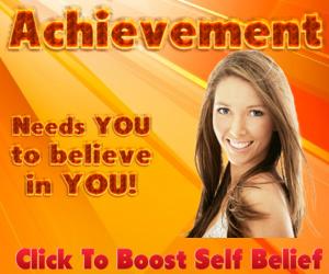 Achievement w woman. 300 x 250px