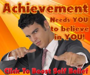 Achievement w man. 300 x 250 px