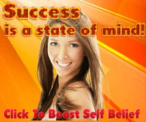 Success is a state of mind - 300 x 250px