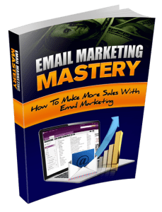 Email Marketing Mastery cover