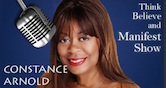 Trevor Emdon on Constance Arnold Think Believe and Manifest Show