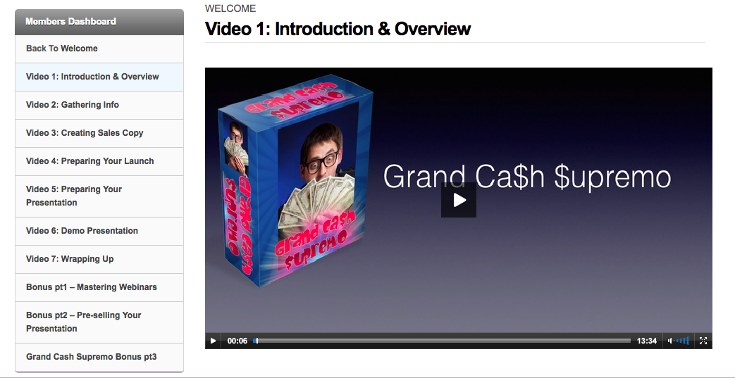 Grand Cash Supremo screenshot