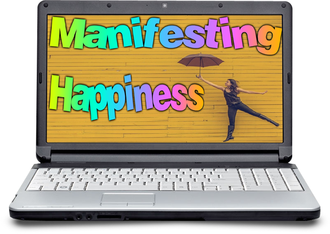 manifesting happiness ecover