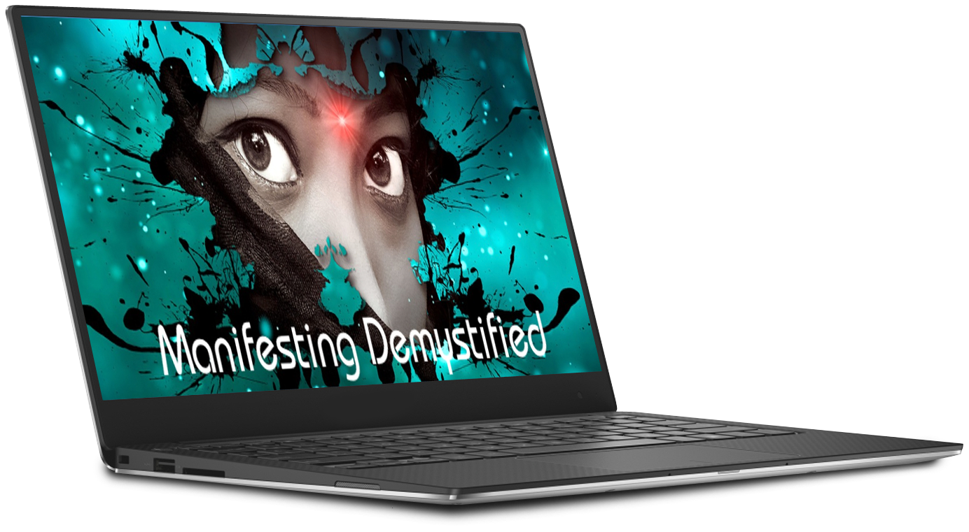 manifesting demystified on laptop