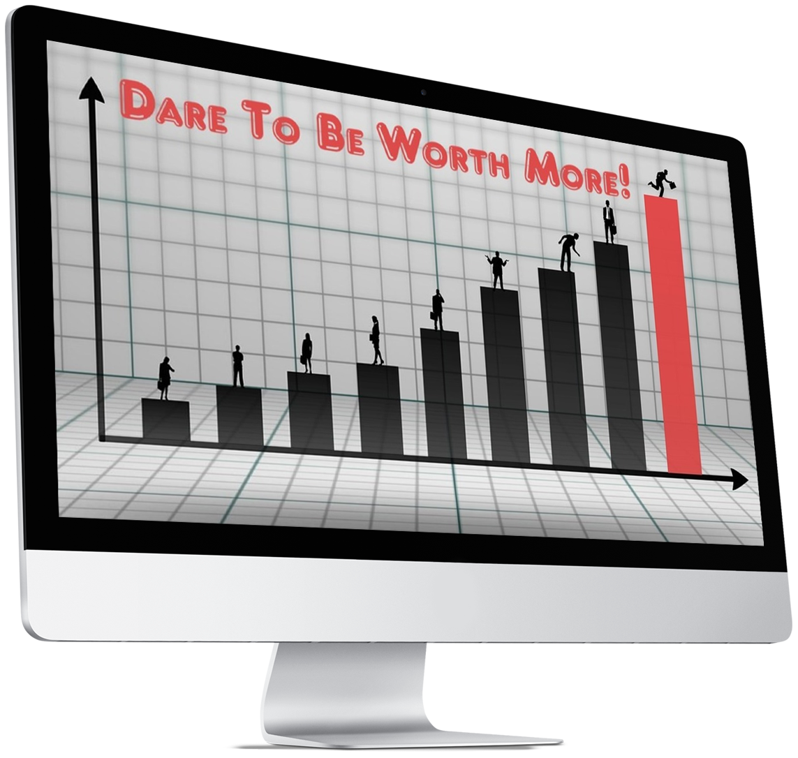 Dare To Be Worth More ecover V03 3D